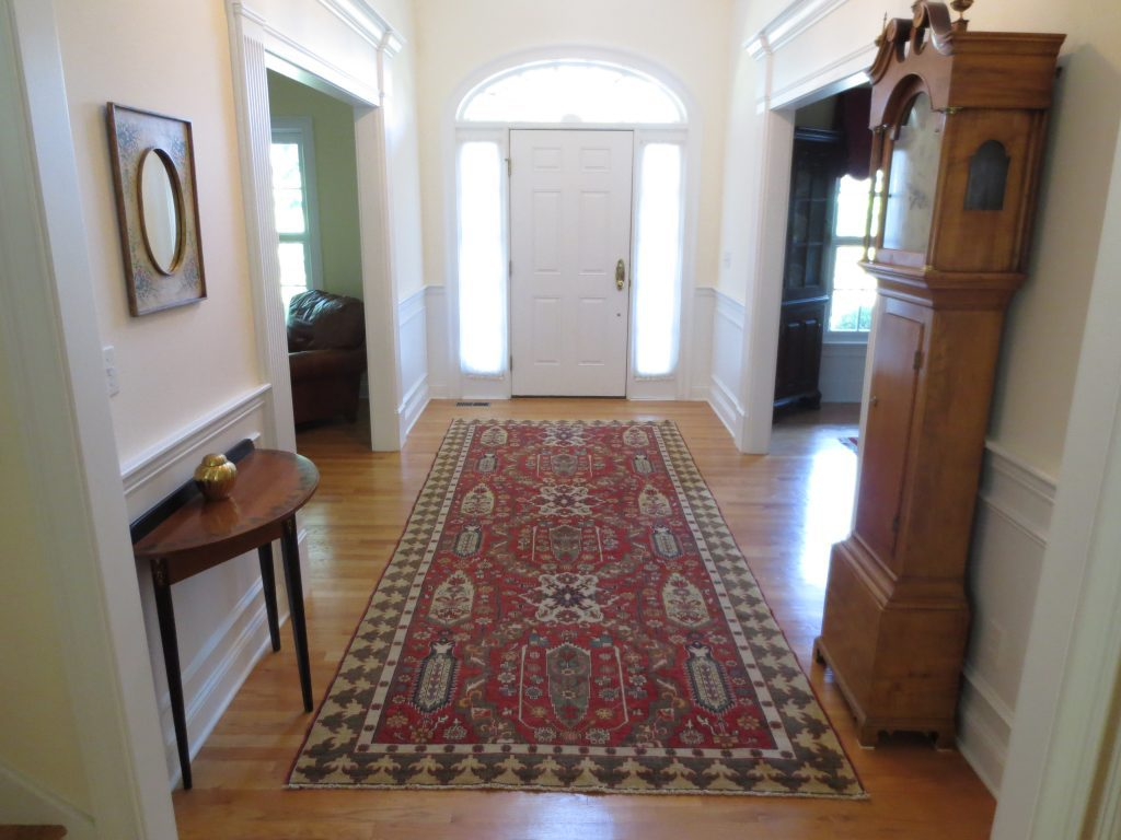 Front Foyer Mat : Engaging entryways afghan dragon carpet kebabian s rugs