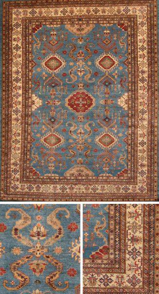 Afghan Kazakh 9.3 x 11.9 Sale Price $3,888.