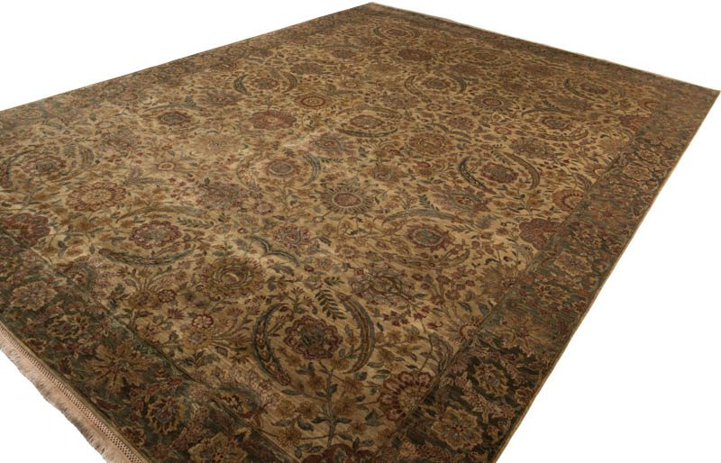 Fine Mughal Herbal Wash Wool Rug Kebabian S Rugs