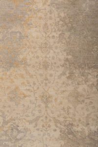38404-Heirloom_Transitional_Wool_and_Silk_Ivory.Green.Gray.Gold-Fine_Indo_Heirloom-8'11''x12'2''-India-b