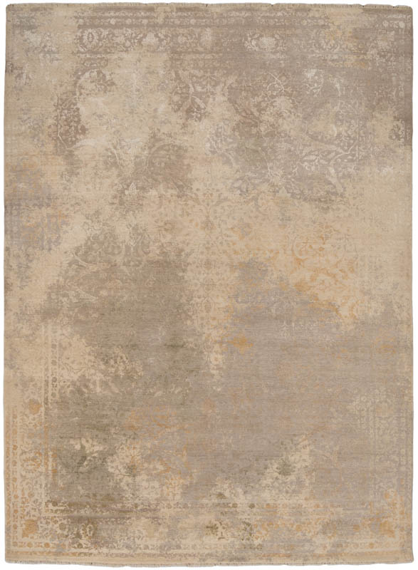 38404-Heirloom_Transitional_Wool_and_Silk_Ivory.Green.Gray.Gold-Fine_Indo_Heirloom-8'11''x12'2''-India