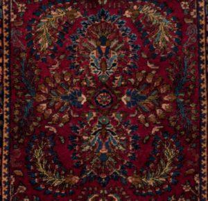 20980-Antique_Persian_Sarouk-2'0''x4'0''-Persia-b