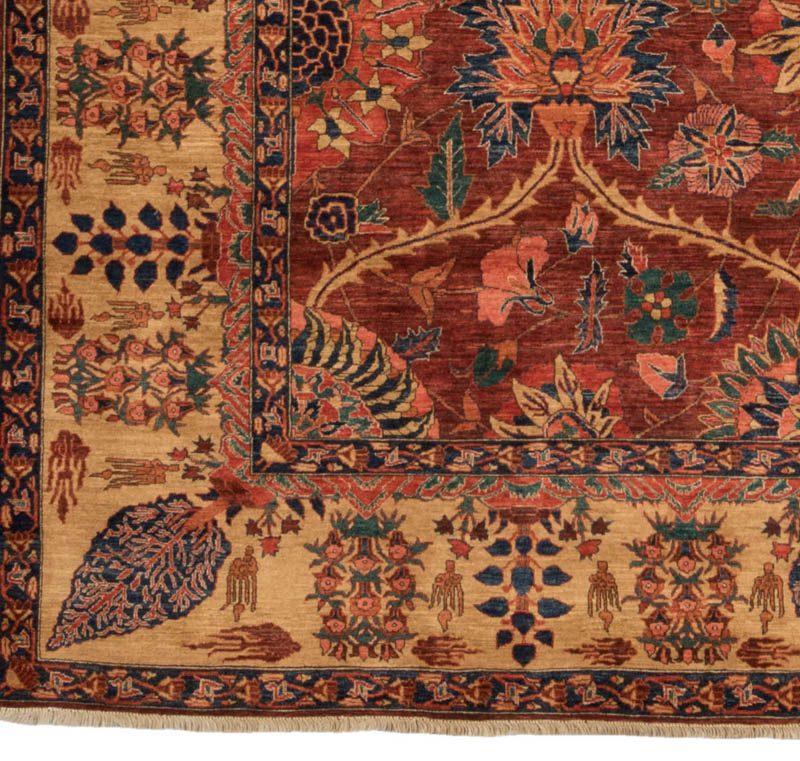 32189 Very Fine Afghan Mughal 9 3 X11 4 Afghanistan