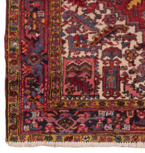 32597-Semi_Antique_Persian_Heriz-5'4''x7'5''-Persia-c