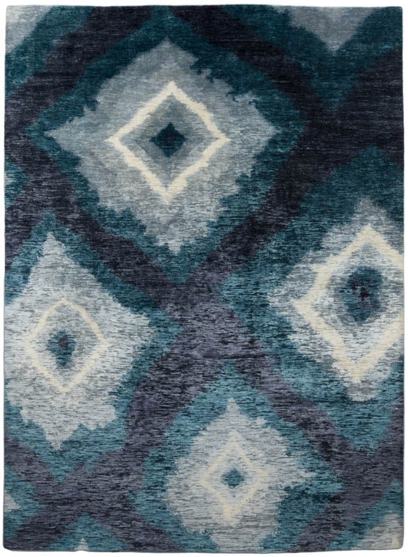 Japanese Diamond Wool And Silk Rug Kebabian S Rugs