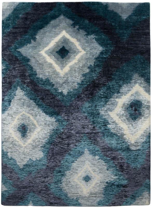Japanese Diamond Wool And Silk Rug Kebabian S Rugs
