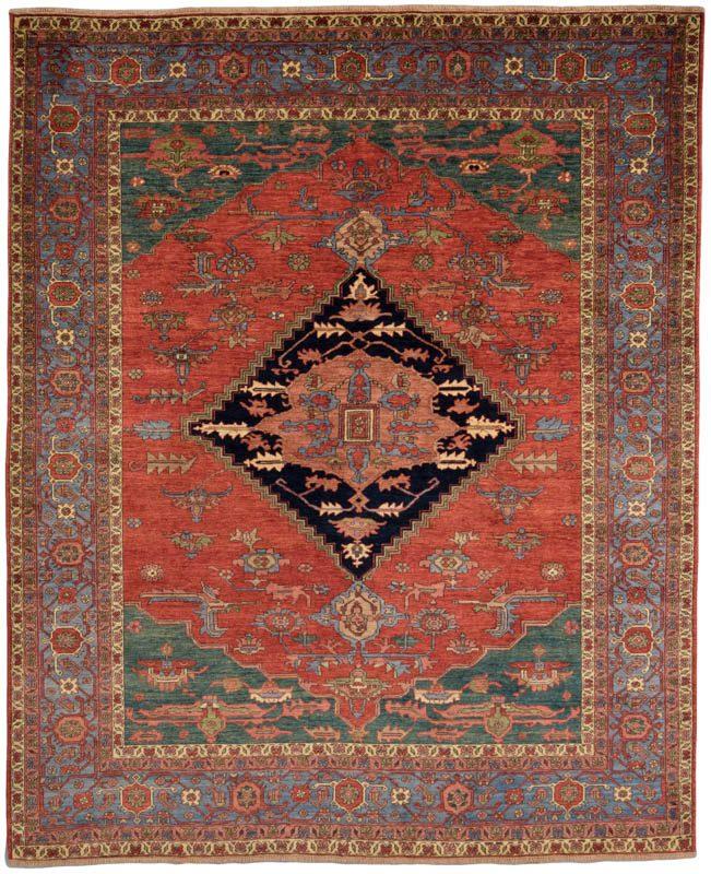36488-Luxe_Tribal_Bakshayesh-8'2''x10'0''-Afghanistan-1