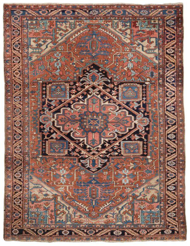 Antique Persian Heriz