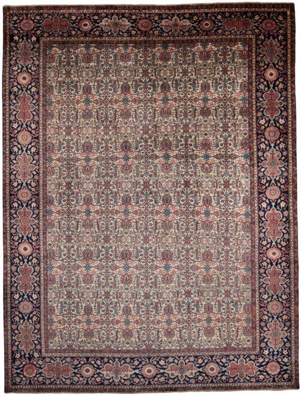 Antiqued ferreghan rug