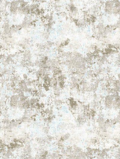 modern wool and silk rug