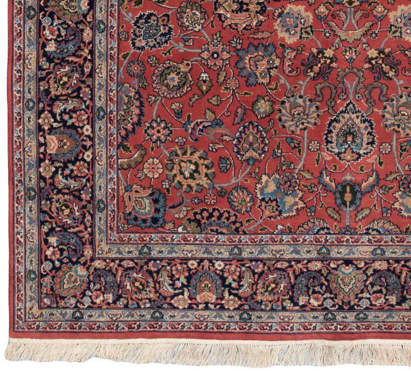 Persian Revival Fine Isfahan Wool Rug