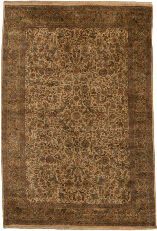 Kashan oversized rug