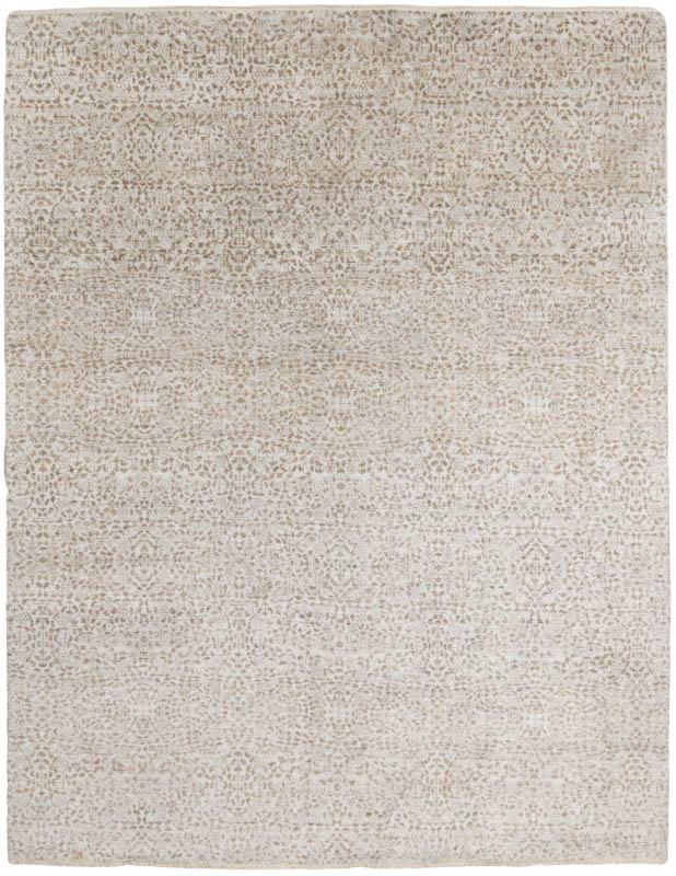 florette wool silk rug