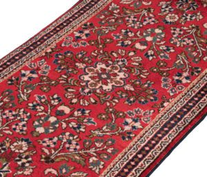 21022-Vintage_Persian_Sarouk_Rug-2'1''x4'2''-Persia-3-2