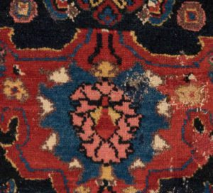 antique beshir rug