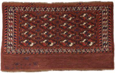 antique chuval yomut bokara rug