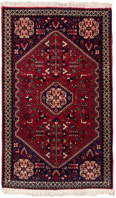 persian abadeh tribal rug