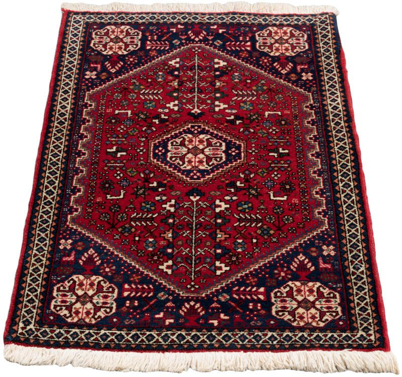 Persian Tribal Rugs: Vintage Persian Abadeh Tribal Rug
