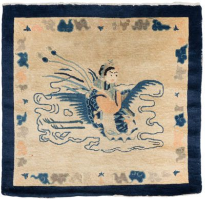 chinese picture rug