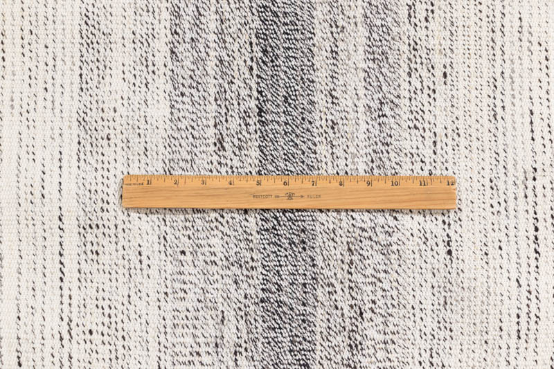 Persian Flat Weave Modern White Black Wool And Cotton Rug