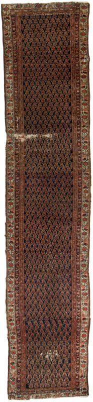 antique persian serebend rug