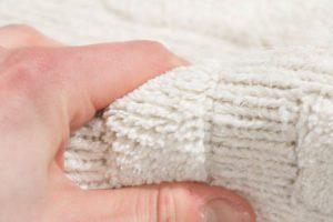 linen rug