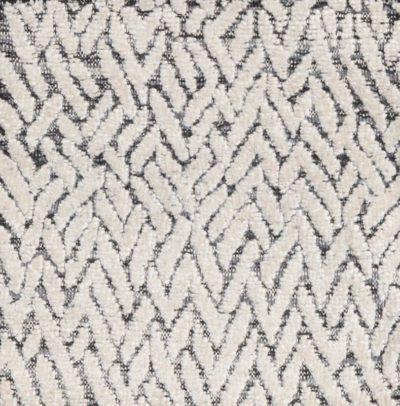 silk and linen rug