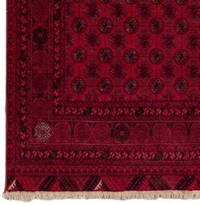 afghan bokara wool rug