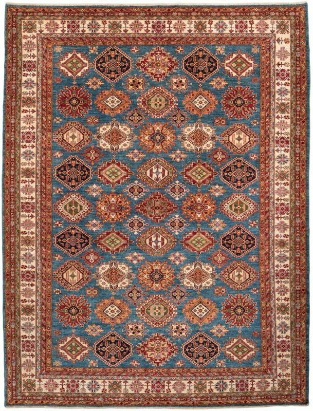 Fine Afghan Kazak Wool Rug Kebabian S