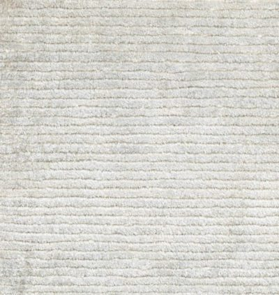 silk linen cotton rug
