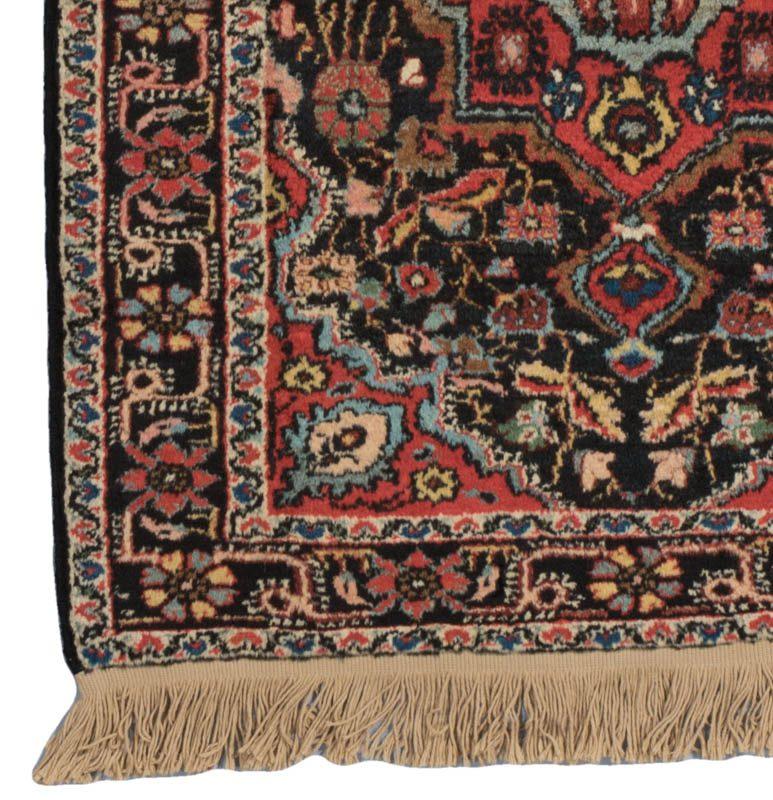 Antique Persian Dergazine Rug