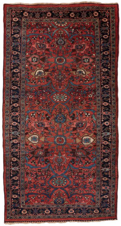 antique bidjar runner rug