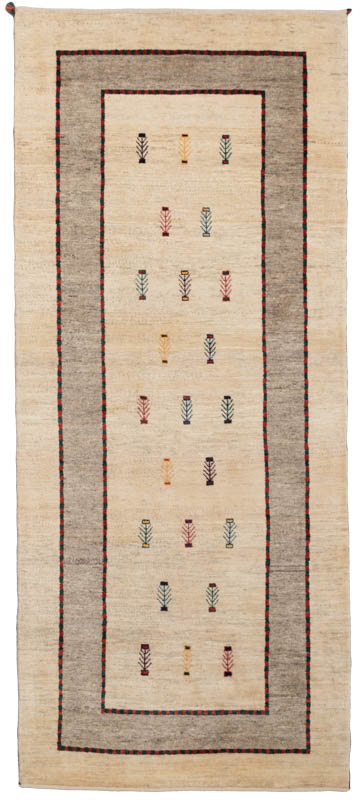 gabbeh wool runner rug