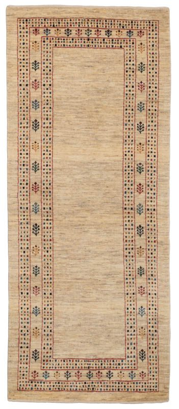 gabbeh runner wool rug