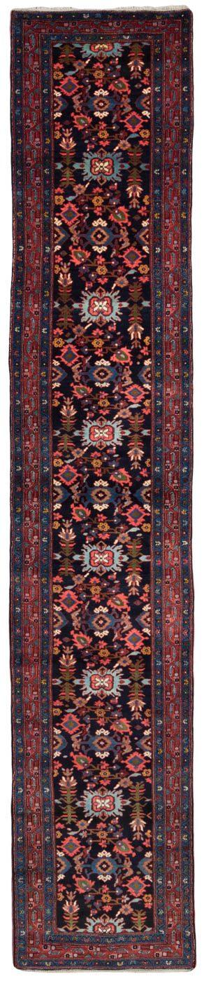 antique mishan malayir runner rug