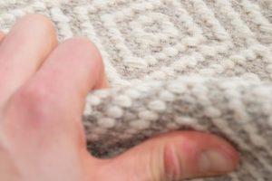 handwoven wool rug