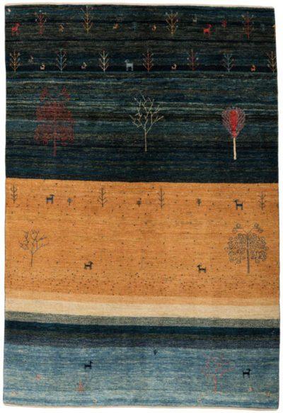 gabbeh folklife wool rug