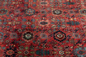 antique bidjar oversized rug