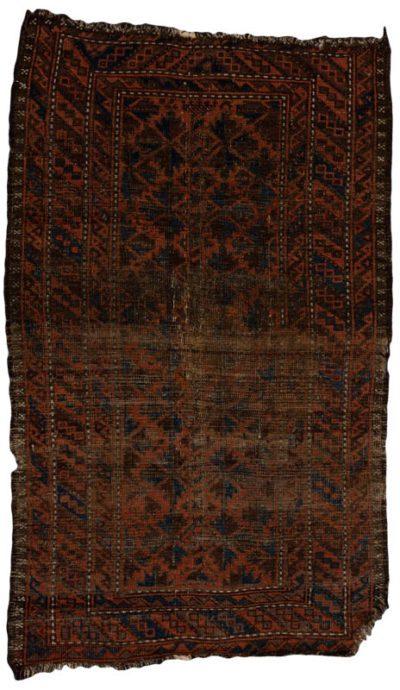 antique baluchi rug