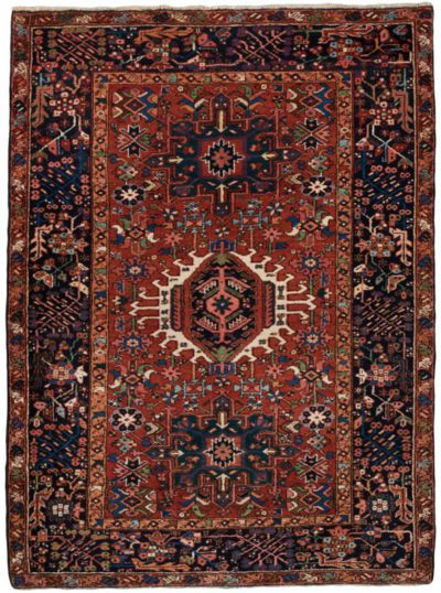 antique persian karadja rug