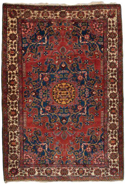 antique persian tafresh rug