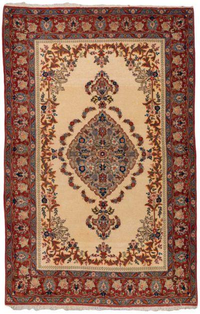 semi-antique persian qum