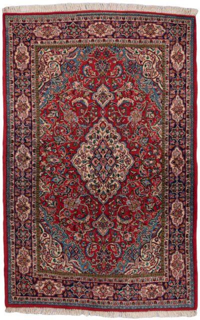semi-antique persian josan sarouk rug