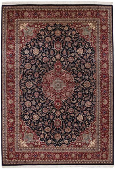 oversized kashan rug