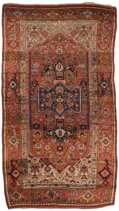 antique persian kurd hamadan rug