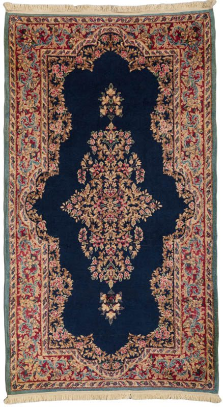 Semi Antique Persian Kerman Rug