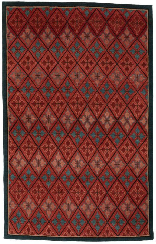 Fine Tibetan Vegetable Dyed Wool Rug