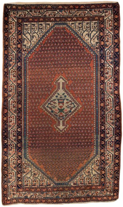 antique persian serabend rug
