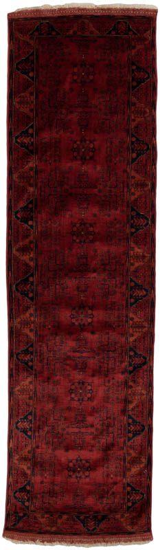 turkmen afghan runner rug