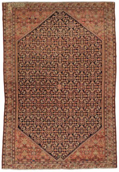 antique persian sarouk farahan rug